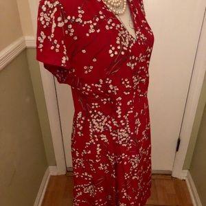 Vintage classic 100 % Silk dress